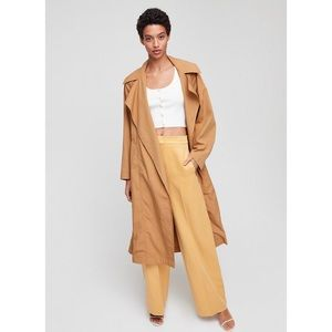 Aritzia Wilfred Odette Trench Coat